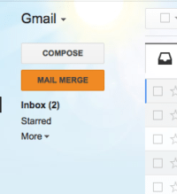 how to mail merge gmail