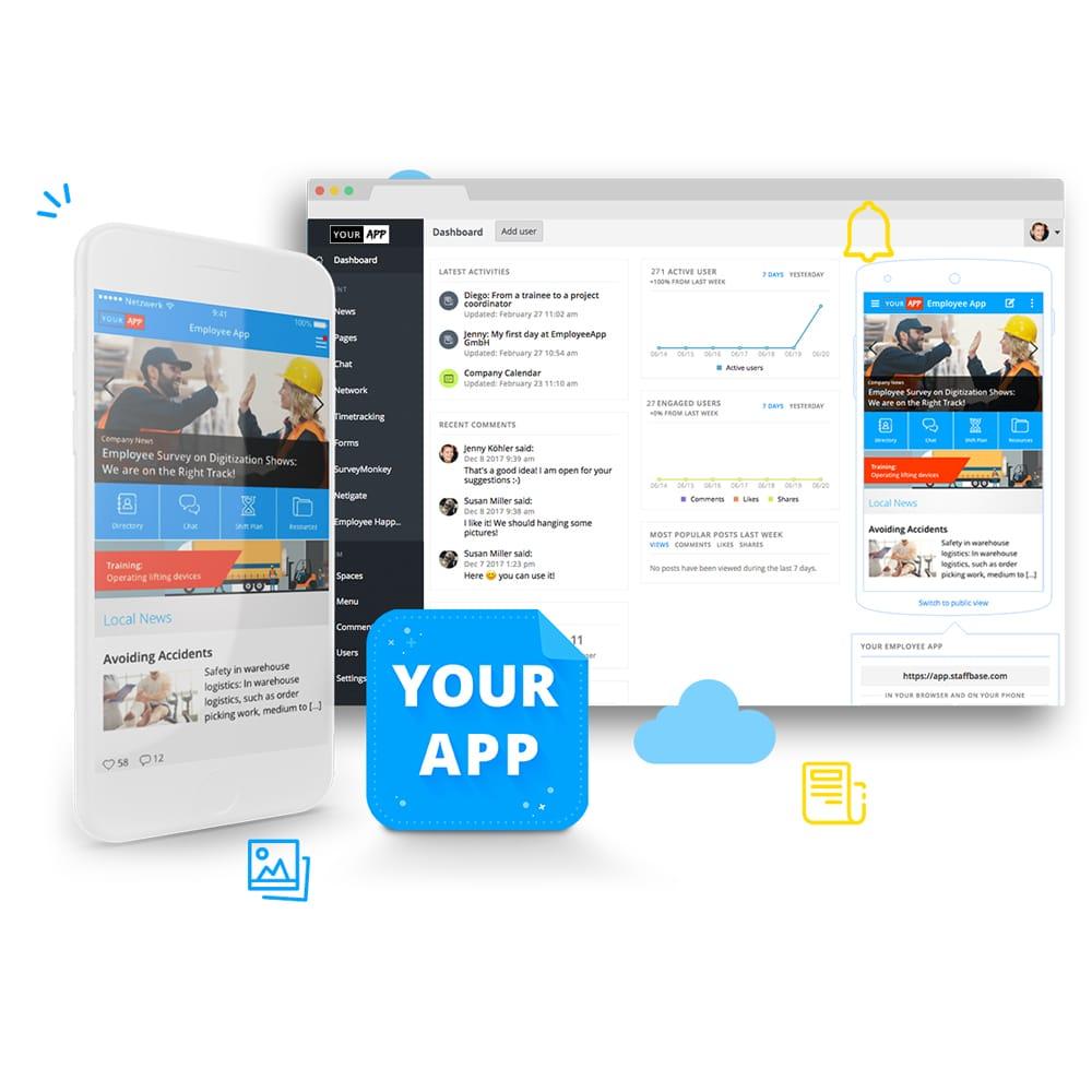 Staffbase Internal Corporate Apps