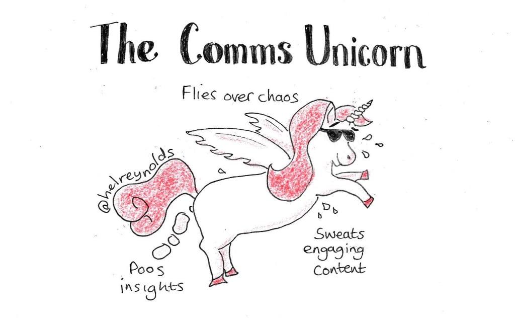 role of internal communication - comms cartoon