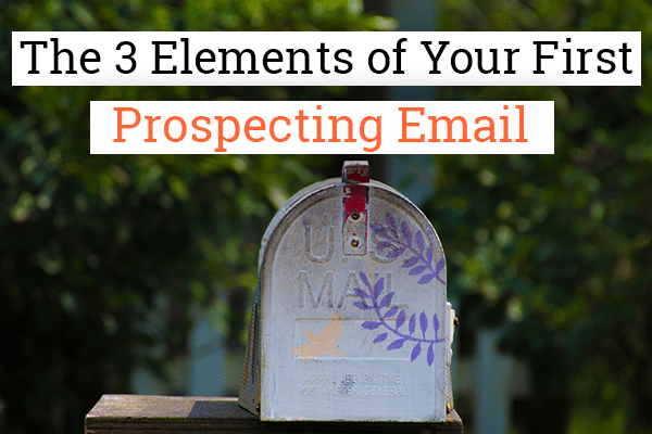 prospecting e-mail