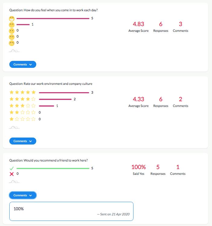 emoji reactions example