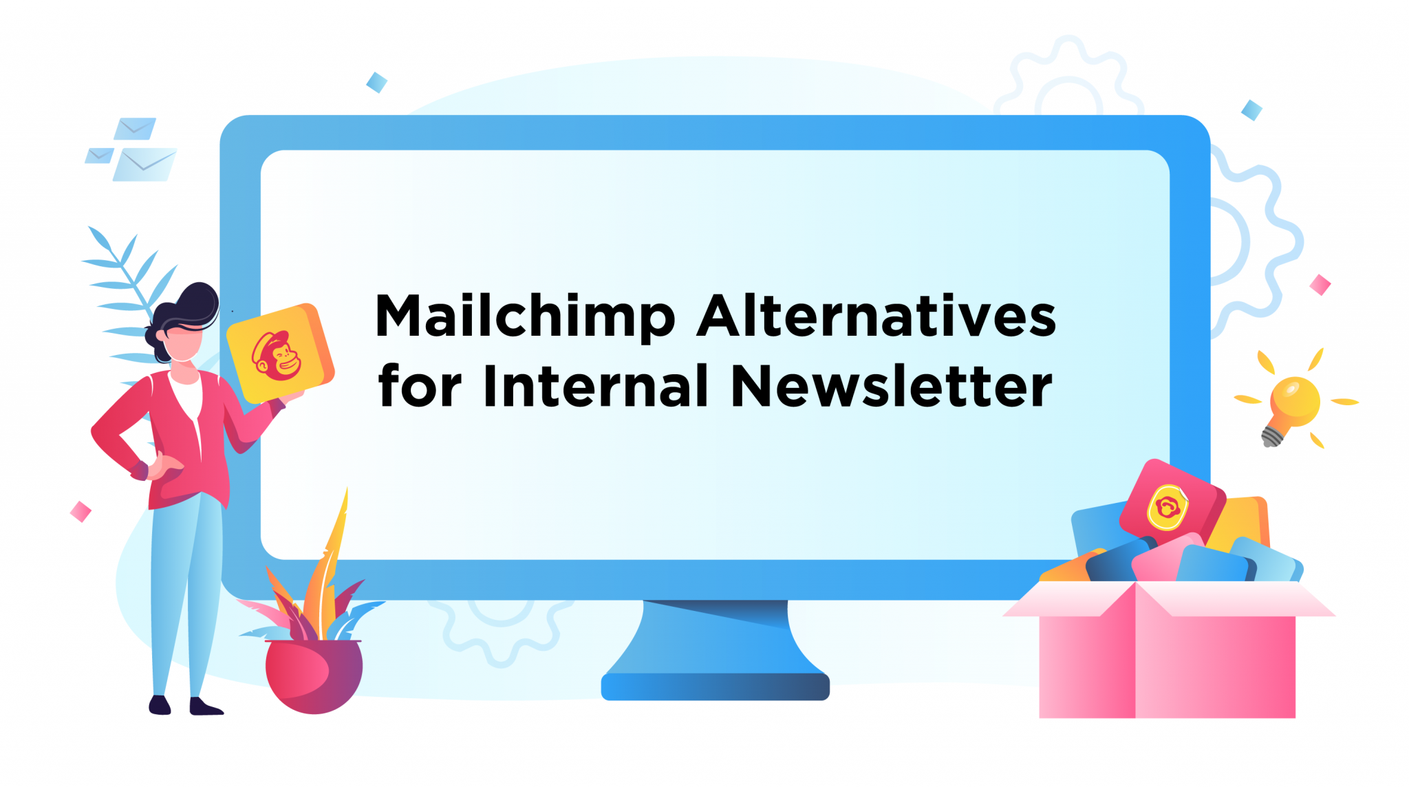 mailchimp alternatives internal communications