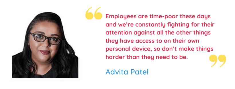Advita Patel Quote