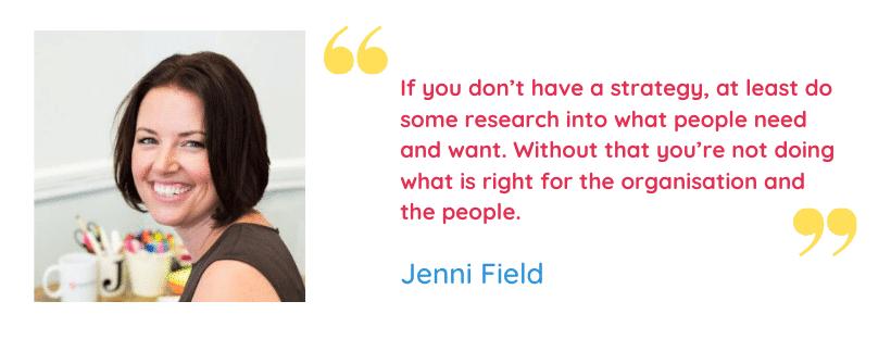 Jenni Field Quote