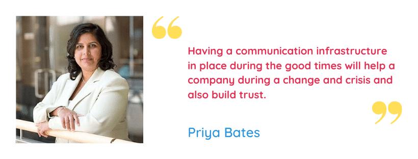 Priya Bates Quote