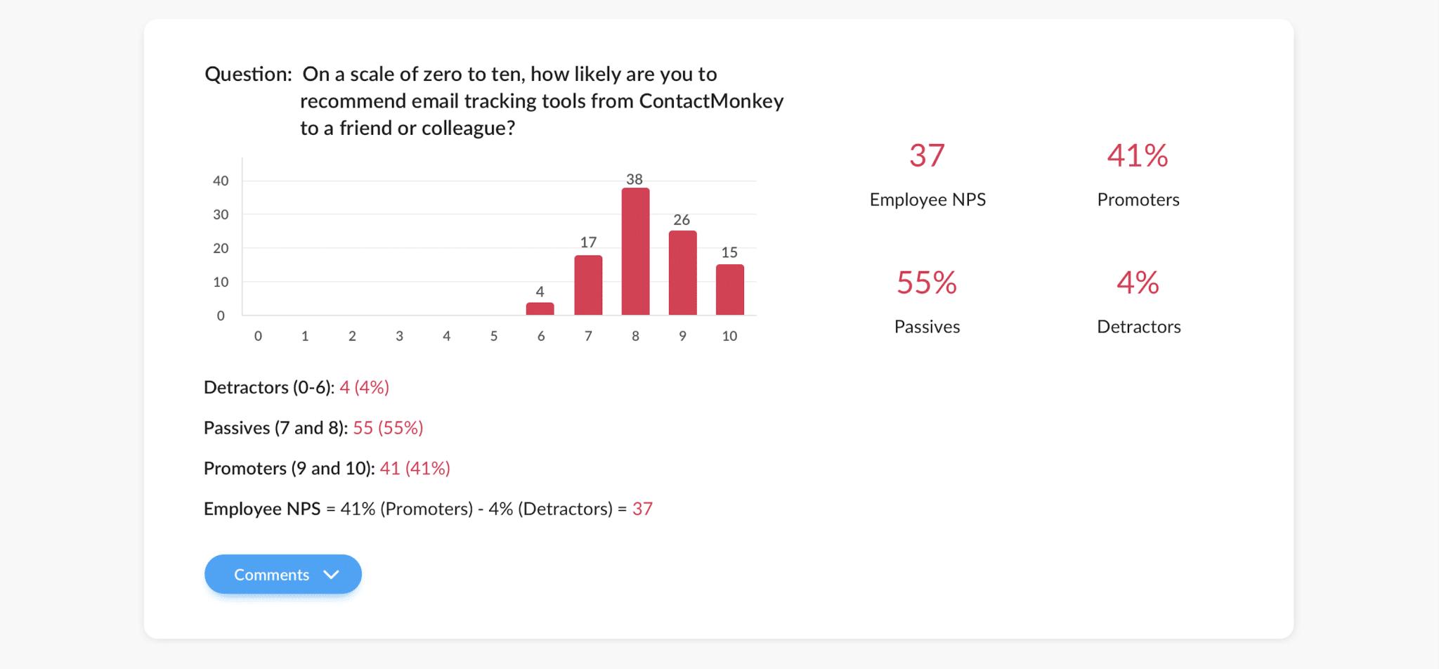 enps survey question