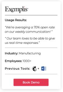 internal communications survey example